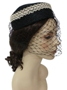Womens Accessories - Pill Box Hat
