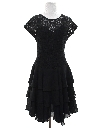 Womens Goth Prom Or Cocktail Dress