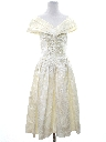 Womens Designer Totally 80s Prom, Cocktail or Wedding Dress