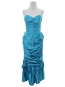 Womens Designer Totally 80s Prom Or Cocktail Dress