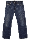Mens Grunge Levis 501 Straight Leg Denim Jeans Pants
