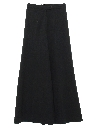 Womens Palazzo Style Bellbottom Knit Pants