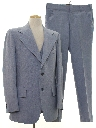 Mens 3 Piece Disco Suit