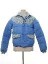 Mens Totally 80s Western Style Ski Jacket