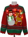 Unisex/Kids Multicolor Lightup Ugly Christmas Sweater