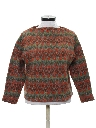 Womens Mod Wool Sweater