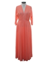 Womens Maxi Disco Dress