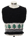 Womens or Girls Vintage Ugly Christmas Pullover Sweater Vest