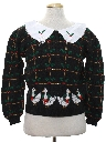 Womens Ugly Christmas Vintage Sweater