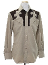 Mens Western Rodeo Shirt