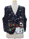Unisex Ugly Christmas Non-Sweater Vest