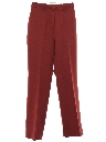 Mens Flared Western Style Knit Pants