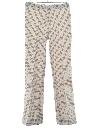 Womens Flared Knit Leisure Pants