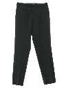 Mens or Boys Mod Flat Front Slacks Pants
