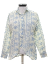 Womens Totally 80s Snowflake Print Shirt