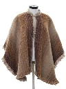 Womens Hippie Poncho Cape Jacket