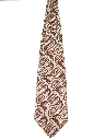 Mens Extra Wide Disco Style Kipper Necktie