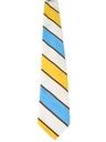 Mens Wide Diagonal Disco Necktie