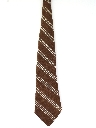 Mens Wide Diagonal Necktie