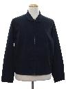 Mens Mod Golf Style Zip Jacket