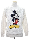 Mens Totally 80s Mickey Mouse Sweater