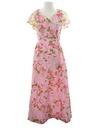 Womens Print Maxi Dress