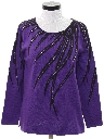 Womens Beaded Cocktail Sweater
