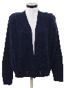 Womens Totally 80s Alpaca Wool Cardigan Sweater