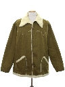 Mens Western Style Car Coat Jacket