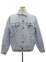 Mens Stone Washed Denim Jacket