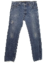Mens Grunge Levis 501 Button Fly Distressed Jeans Pants