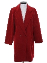Womens Wool Coat Overcoat Jacket