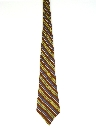 Mens Diagonal Striped Necktie