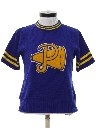 Womens Knit Cheerleader Shirt