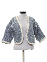 Womens Pendleton Wool Bolero Sweater