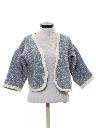Womens Pendleton Wool Bolero Sweater