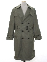 Mens Overcoat Trenchcoat Jacket