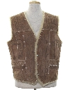Mens Suede Leather Vest
