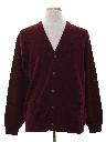 Mens Mod Cardigan Sweater
