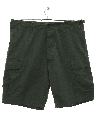 Mens Uniform Cargo Shorts