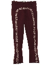 Mens Mod Flared Leisure Style Mariachi Pants