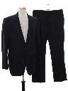 Mens Totally 80s Pinstriped Suit