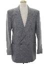 Mens Swing Style Blazer Sport Coat Jacket