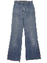 Womens Bellbottom Jeans Denim Pants