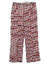 Womens Plaid Flared Pants