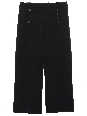Mens Navy Style Bellbottom Pants