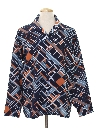 Mens Abstract Print Disco Shirt
