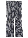 Womens Bellbottom Style Flared Knit Pants
