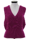Womens Totally 80s Sweater Vest