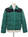 Mens Totally 80s Puffy Ski Jacket